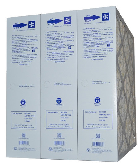 Amana Replacement Filter – Part # M2-1056 Merv 11 (Package of 3)