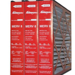 GENERALAIRE #4521 OR 14164 MAC – Genuine 16 x 25 x 3 MERV 8 (Package of 3)